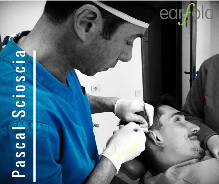 Pascal Scioscia chirurgo plastico utilizza earfold per la correzione definitiva delle orecchie a sventola - Roma EUR San Giovanni Infernetto